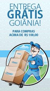 Entrega Grátis para Goiânia acima de R$100,00