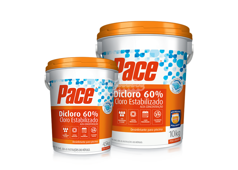 HTH - PACE DICLORO 60% 10kg