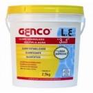GENCO - CLORO GRANULADO MÚLTIPLA AÇÃO 3 EM 1  2,5kg